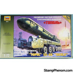Zvezda - Topol SS-25 'Sickle' Russian Intercontinental Ballistic Missile Launcher 1:72-Model Kits-ZveZda-StampPhenom