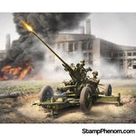 Zvezda - WWII Soviet 37mm 61K Anti-Aircraft Gun with Crew (2) (Snap Kit) 1:72-Model Kits-ZveZda-StampPhenom