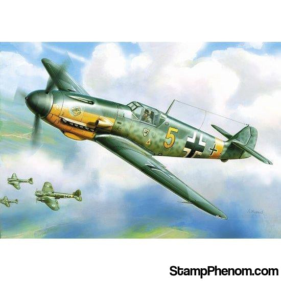 Zvezda - Messerschmitt Bf-109F-2 German WWII Fighter (Snap Kit) 1:144-Model Kits-ZveZda-StampPhenom