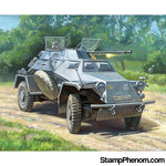 Zvezda - German Recon Armored Car (Snap Kit) 1:100-Model Kits-ZveZda-StampPhenom
