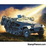 Zvezda - German SdKfz 251/1 Heavy Rocket Launcher (Snap) 1:100-Model Kits-ZveZda-StampPhenom
