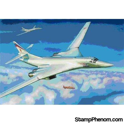 Zvezda - Tupolev Tu-160 Blackjack Russian Supersonic Bomber 1:144-Model Kits-ZveZda-StampPhenom