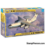 Zvezda - Russian A-50 Mainstay Airborne early Warning & Control (AEW) Aircraft 1:144-Model Kits-ZveZda-StampPhenom