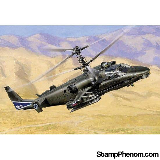 Zvezda - Russian Kamov Ka-52 Alligator Attack Helicopter 1:72-Model Kits-ZveZda-StampPhenom
