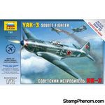 Zvezda - Yak-3 Soviet Fighter (Snap Kit) 1:72-Model Kits-ZveZda-StampPhenom