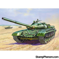 Zvezda - T-72B Soviet Main Battle Tank (Snap Kit) 1:100-Model Kits-ZveZda-StampPhenom