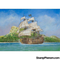 Zvezda - Pirate Ship Black Swan 1:72-Model Kits-ZveZda-StampPhenom