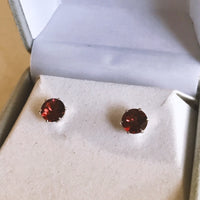 January Birthstone Studs