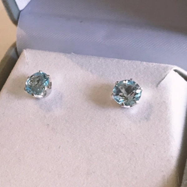 November Birthstone Studs