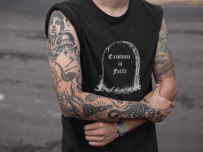 Existence is Futile Unisex Tee - Cemetery Swag