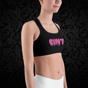 CUNT Sports Bra - Cemetery Swag