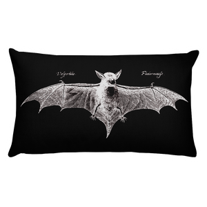 Fledermaus Throw Pillow - Cemetery Swag