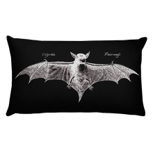 Load image into Gallery viewer, Fledermaus Throw Pillow - Cemetery Swag