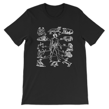 Load image into Gallery viewer, Zodiac Dissection Unisex Tee - Cemetery Swag