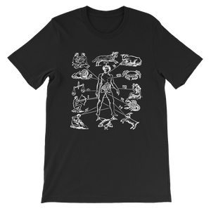 Zodiac Dissection Unisex Tee - Cemetery Swag