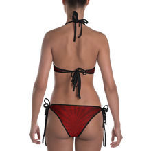 Load image into Gallery viewer, Swirl Stripe Bikini - Cemetery Swag