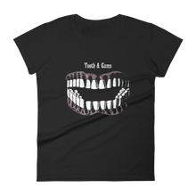 Load image into Gallery viewer, Teeth & Gums Slim Fit Tee - Cemetery Swag