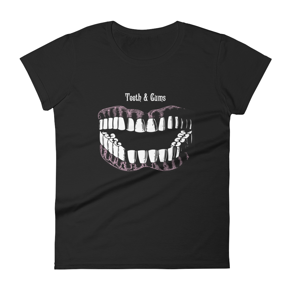 Teeth & Gums Slim Fit Tee - Cemetery Swag