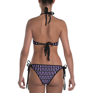 Purple Coffin Bikini - Cemetery Swag