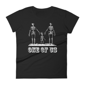 One Of Us Slim Fit Tee - Cemetery Swag