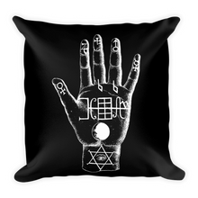 Load image into Gallery viewer, Palmistry Throw Pillow - Cemetery Swag