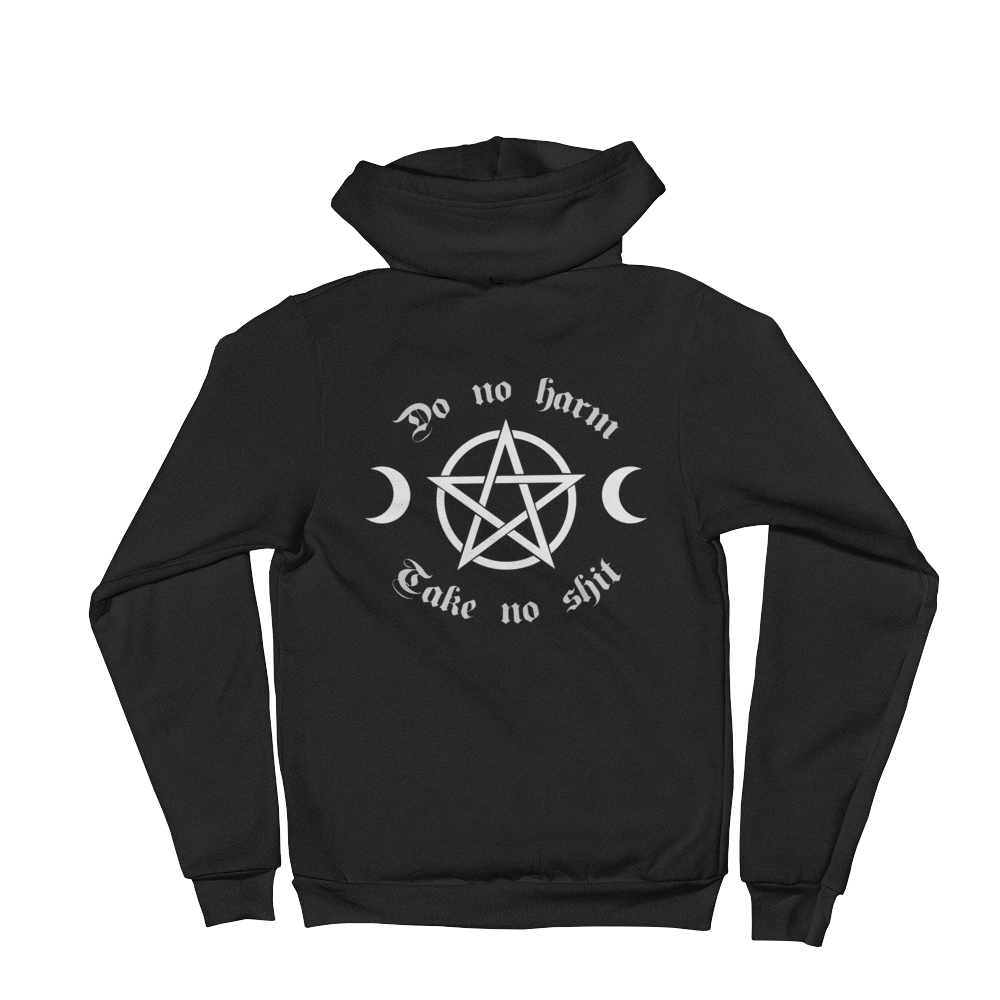 Do No Harm Hoodie - Cemetery Swag