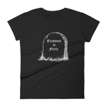 Load image into Gallery viewer, Existence is Futile Slim Fit Tee - Cemetery Swag