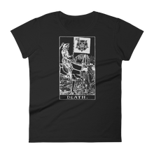 Load image into Gallery viewer, Death Card Slim Fit Tee - Cemetery Swag