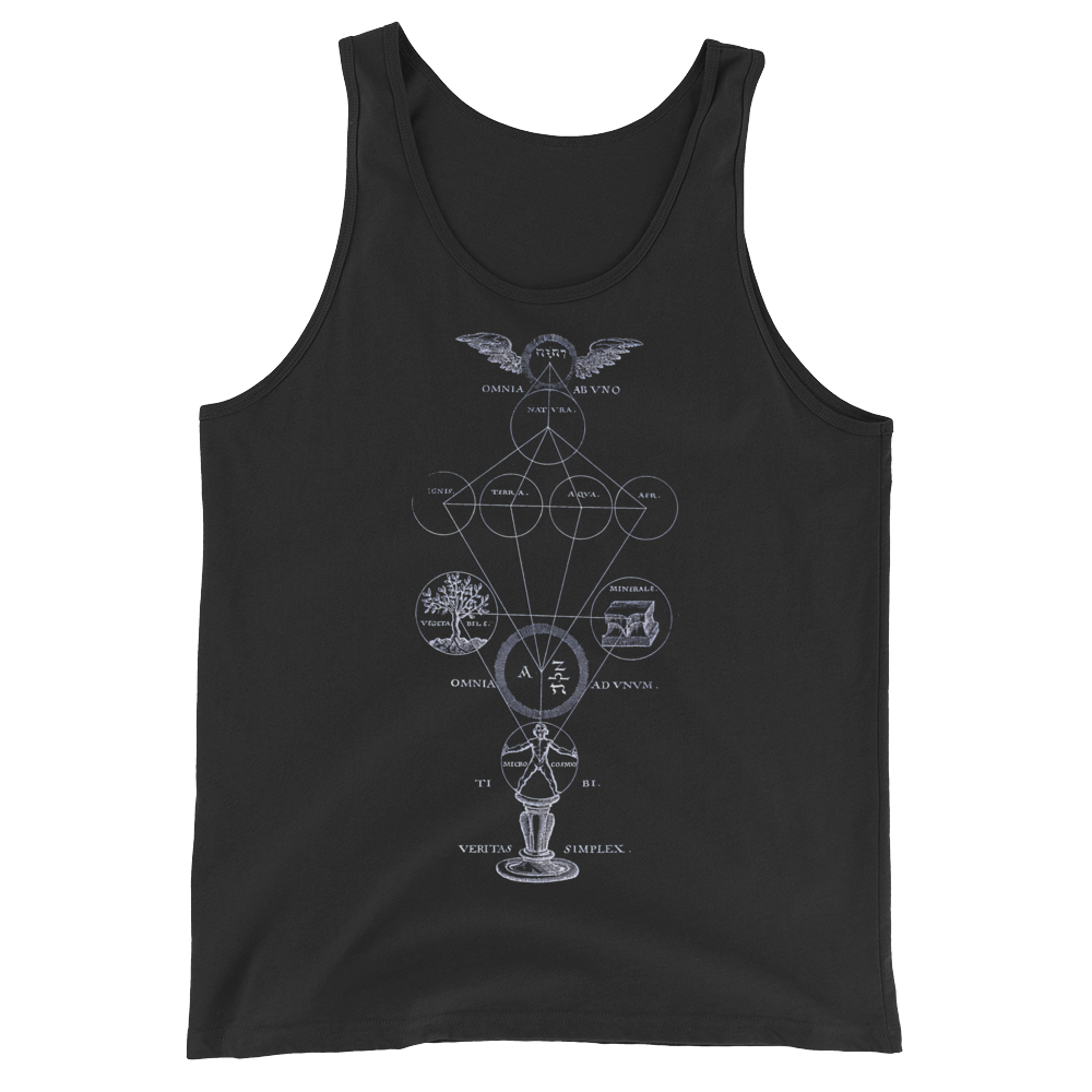 Alchemy Tank Top - Cemetery Swag