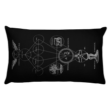 Load image into Gallery viewer, Alchemy Throw Pillow- Rectangular - Cemetery Swag