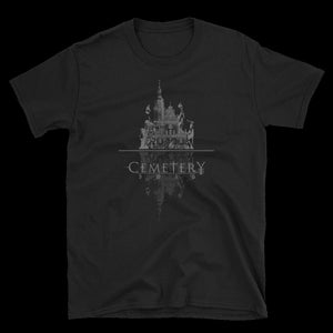 Burning Churches Unisex Tee - Cemetery Swag