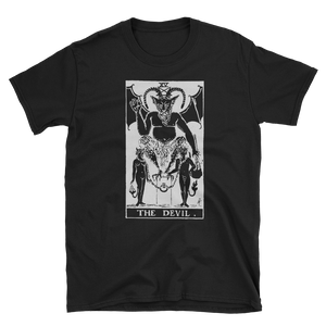 The Devil Unisex Tee - Cemetery Swag