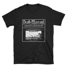 Load image into Gallery viewer, Death Warrant Unisex Tee - Cemetery Swag