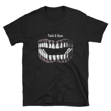 Load image into Gallery viewer, Teeth & Gums Unisex Tee - Cemetery Swag
