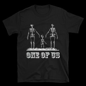 One Of Us Unisex Tee - Cemetery Swag