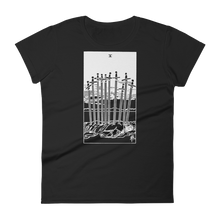 Load image into Gallery viewer, Ten of Swords Slim Fit Tee - Cemetery Swag