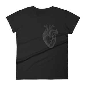 Heart On My Sleeve Slim Fit Tee - Cemetery Swag