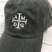 """AMDG"" Embroidered Baseball Cap"