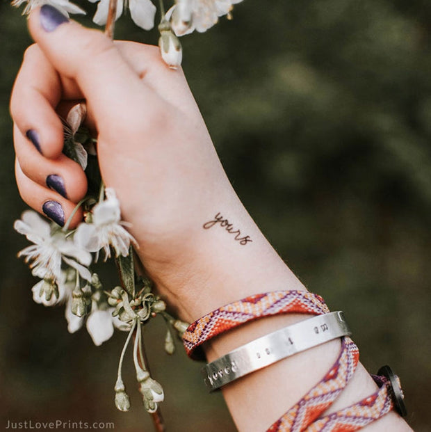 """Behold Collection"" Temporary Tattoos"