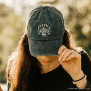 """Formed and Favored"" Embroidered Baseball Cap"