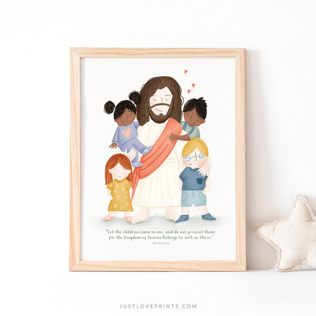 Jesus with Little Children