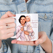 "St. Gianna ""Sipping with the Saints"" Mug"