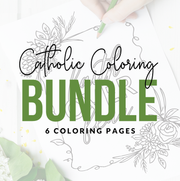 Catholic Coloring Page Bundle