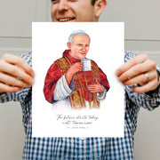"""The future starts today, not tomorrow."" St. John Paul II 