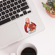 "St. John Paul II ""Sipping with the Saints"" Vinyl Sticker"