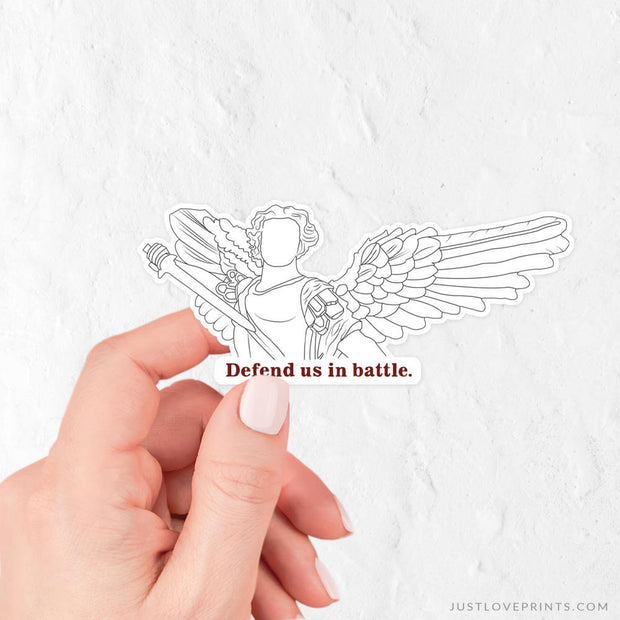St. Michael Vinyl Sticker