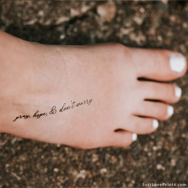 """Surrender Collection"" Temporary Tattoos"