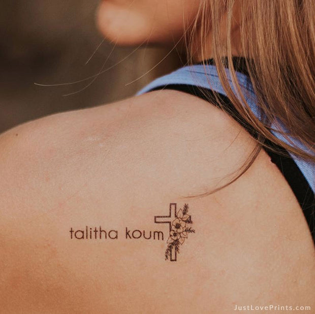 """Talitha Koum Collection"" Temporary Tattoos"