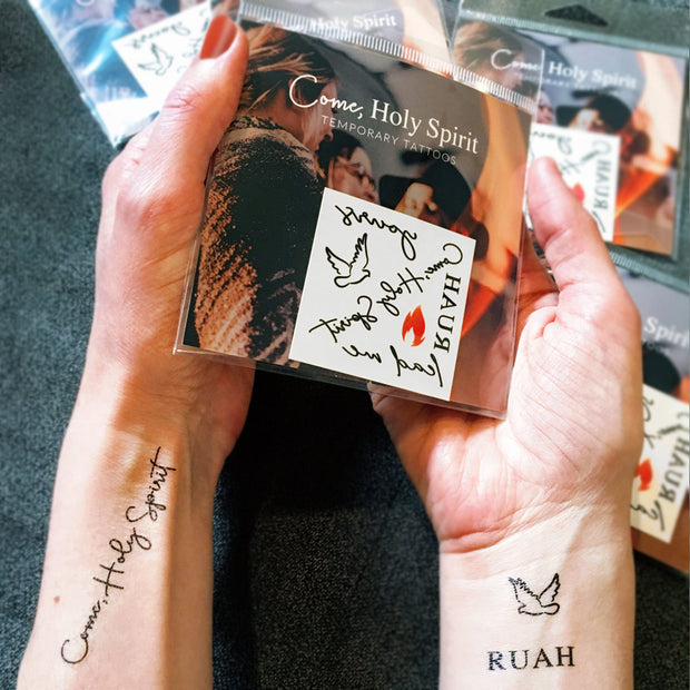Come, Holy Spirit Temporary Tattoos