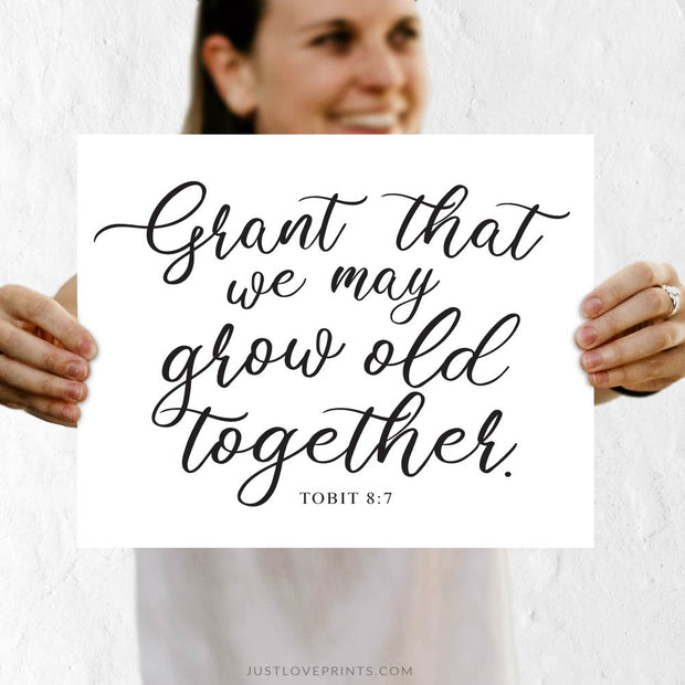 Grant That We May Grow Old Together | Tobit 8:7